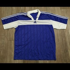 Vintage size xl men's adidas soccer jersey polo